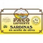 Sardinas en aceite de oliva 3-5