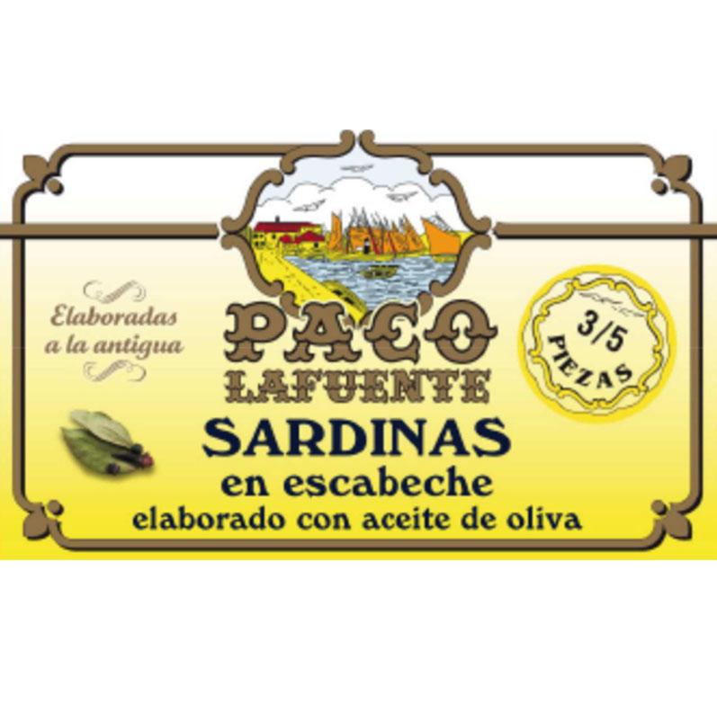 Sardinas en escabeche elaborado con aceite de oliva