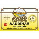Sardinas en tomate elaborado con aceite de oliva