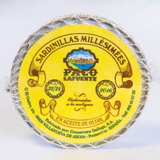 Small sardines in olive oil 22/24 - 2016