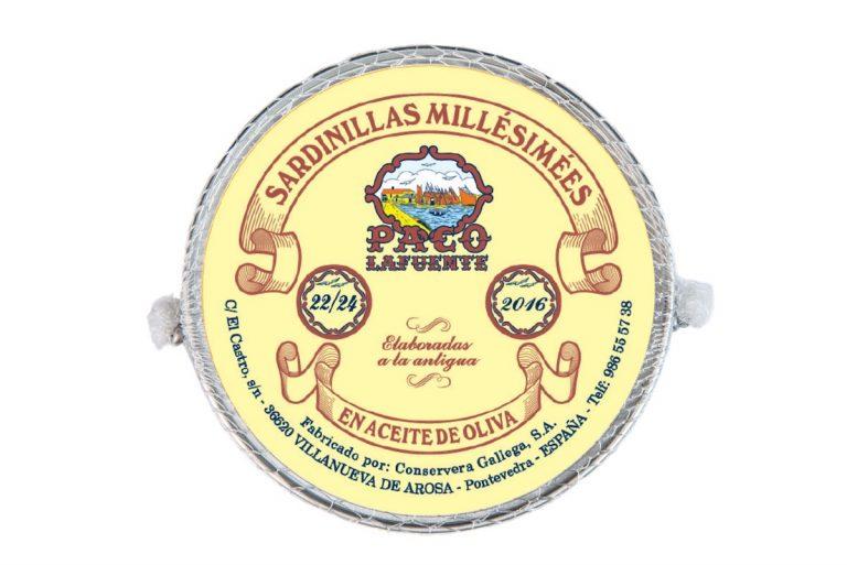 Sardinillas millesimees 22/24 de 2016