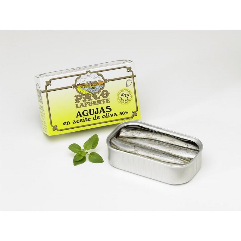 Agujas en aceite de oliva 8 10
