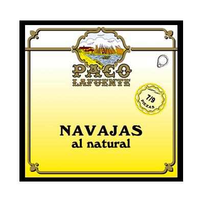 Paco Lafuente navajas al natural 7-9