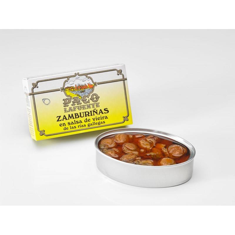 zamburinas en salsa de vieira 1
