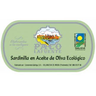 Sardinillas en aceite de oliva ecológico