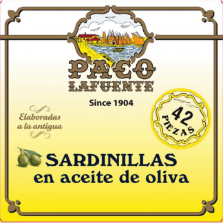 Sardinilla en aceite de oliva 42