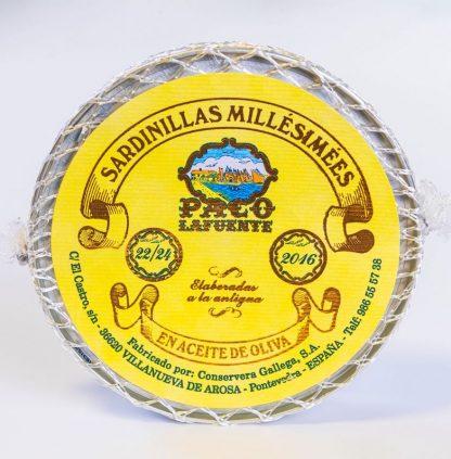 Sardinillas Millésimées – 22 piezas. (año 2.016)