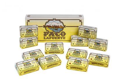 caja 12 latas sardinilla sardina