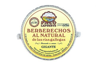 Berberecho 15/20 piezas de Paco Lafuente
