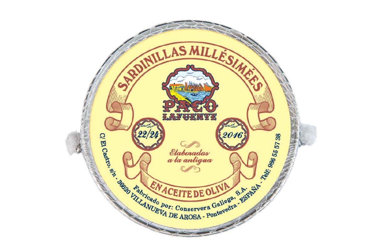 Sardinillas millesimees 2016 22/24