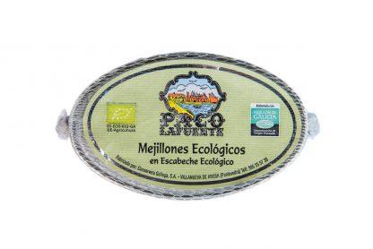 Mejillones ecológicos en escabeche ecológico
