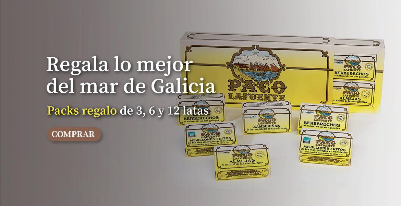 Regala lo mejor del mar de Galicia PACKS